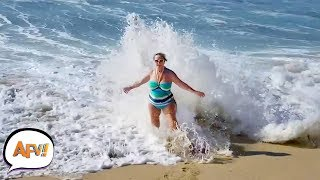Ocean Eats Human | Best Summer FAILS! AFV 2019