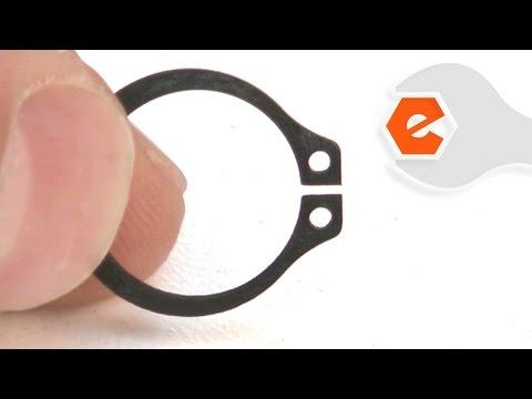 Chop Saw Repair - Replacing the Retaining Ring (DeWALT Part # 144803-00)