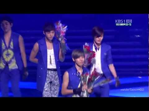 [HD] 120722  KBS 2012 Olympic Fighting Korea Concert   Infinite - The chaser
