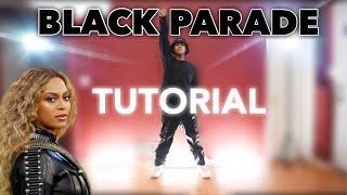 HOW TO DANCE BEYONCÉ - BLACK PARADE (TUTORIAL)