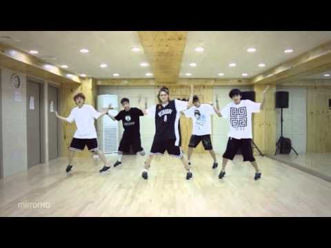 B1A4 'What's Happening?' mirrored Dance Practice.