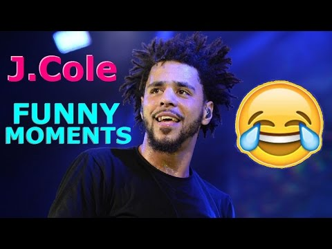 J.Cole FUNNY MOMENTS (BEST COMPILATION)