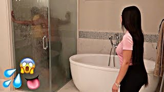 CAUGHT IN THE SHOWER PRANK WITH BIANNCA'S SISTER ALEXIS!! (GONE WRONG)