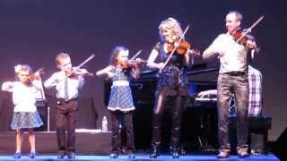 NATALIE MACMASTER AND FAMILY: Live at Count Basie Theater 2/26/15
