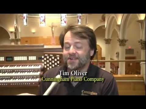 The Rodgers 361 Papal Organ - featured on CTV (Catholic Television Network)