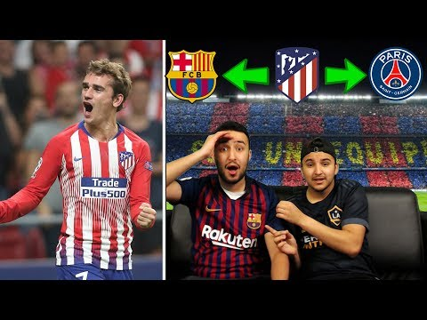 Antoine Griezmann | Welcome to Barcelona 2019? | REACTION