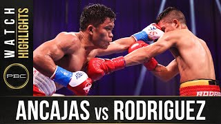 Ancajas vs Rodriguez HIGHLIGHTS: April 10, 2021 | PBC on SHOWTIME
