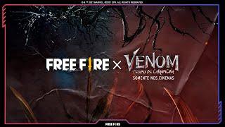 Free Fire x Venom: Tempo de Carnificina - É hora do caos