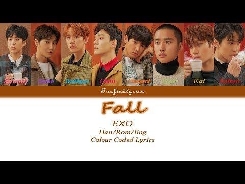 EXO -  Fall Colour Coded Lyrics HanRomEng by Taefiedlyrics