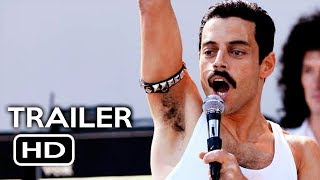 Bohemian Rhapsody Official Trailer #1 (2018) Rami Malek, Freddie Mercury Queen Movie HD