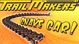 60 WHEEL SNAKE CAR! - TrailMakers Gameplay Ep16