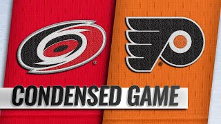 01/03/19 Condensed Game: Hurricanes @ Flyers