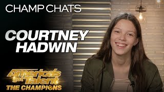 """Courtney Hadwin Chats About Her Original """"Pretty Little Thing"""" - America's Got Talent: The Champions"""
