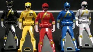 đồ chơi siêu nhân gao Power Rangers Wildforce Toys  파워레인저 정글포스 레인저키 장난감