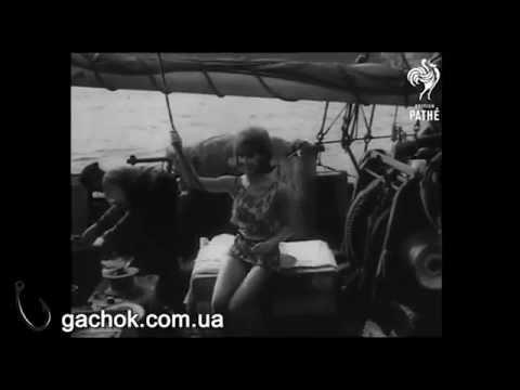 Купальник для рыбалка. Фэшн шоу 1964 г