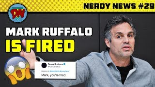 Avengers 4 Title & Leaks, No More Captain America, Mark Ruffalo, Dark Avengers | Nerdy News #29