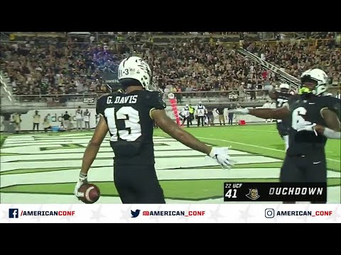 2019 Football Highlights - UConn at UCF