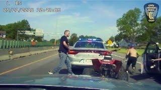 Ohio Troopers Chase ATV on Interstate; Manhunt Follows