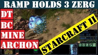 3x Zerg Fail to Break Ramp and Drown in Late Game - StarCraft II (3 v 3)