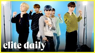Can Tomorrow x Together Pass The Ultimate Dance Challenge? l Elite Daily