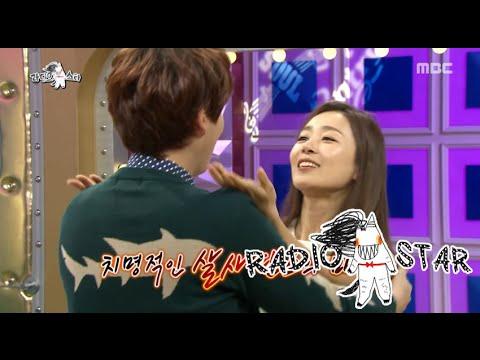 [RADIO STAR] 라디오스타 - Moon Jung-hee and Kyuhyun's latin dance 20151104