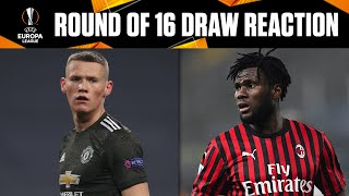 Europa League Round Of 16 Draw Preview | UCL on CBS Sports