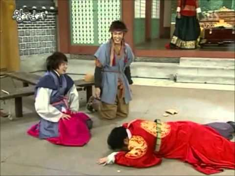 TVXQ The King's Men Parody 東方神起 王的男人 反轉劇場