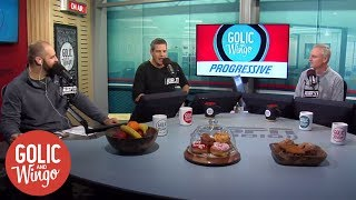 The opening of the first Golic and Wingo show | Golic and Wingo | ESPN