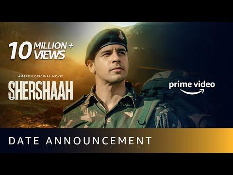 Date announcement: Shershaah ft. Sidharth Malhotra, Kiara Advani