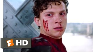 Spider-Man: Far From Home (2019) - Spider-Man vs. Mysterio Scene (9/10) | Movieclips