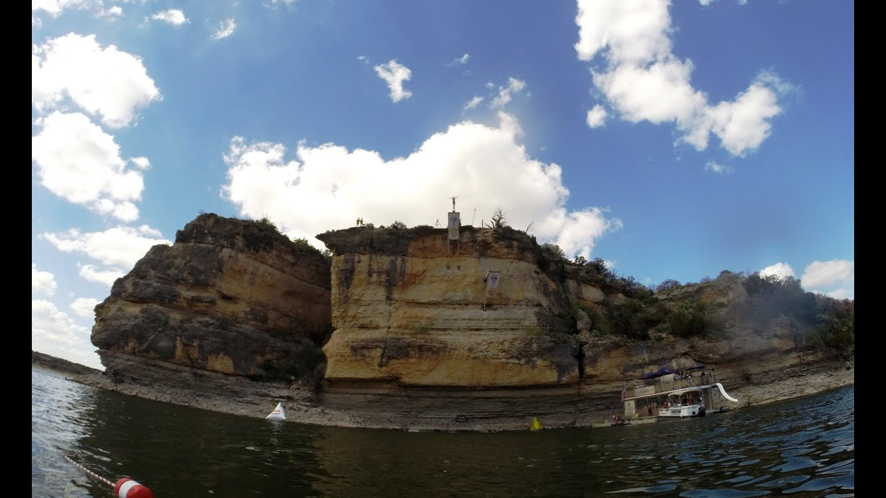 2014 Red Bull Cliff Diving Possum Kingdom Lake Texas