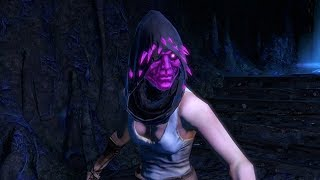 Path of Exile: Purple Crystal Helmet