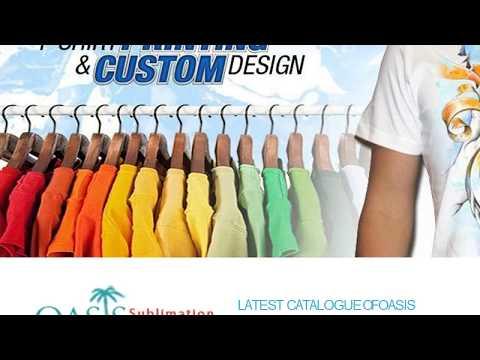 Wholesale Sublimation Clothing : Oasis Sublimation