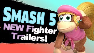 10 Smash Bros 5 New Fighter Reveal Trailer Ideas!