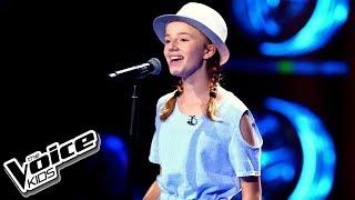 """Michalina Porszke – """"I Have Nothing"""" – Przesłuchania w ciemno – The Voice Kids Poland"""