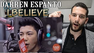 """VOCAL COACH reacts to DARREN ESPANTO singing """"I Believe"""" by Fantasia"""