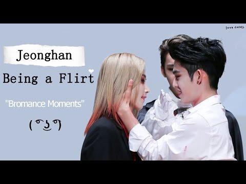 SEVENTEEN Jeonghan Being a Flirt [Bromance moments]