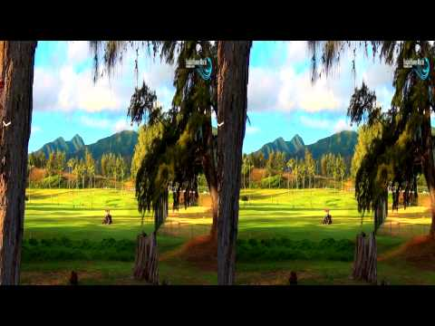 3D Video extreme!!! (evo 3D Works) Hawaii's Nature In 3D 1 (Yt3d) 3D Nature