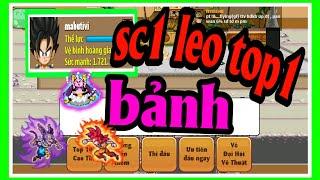 Ngọc Rồng Online - Thử thách cầm Mabutivi sc1 xd leo top1 giải siêu hạng