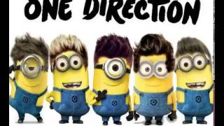 One Direction - Live While We're Young Minions