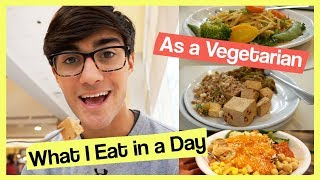 What I Eat in a Day as a Vegetarian College Athlete