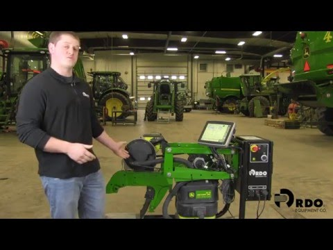 John Deere Row Unit Test Stand Overview with RDO Equipment Co.