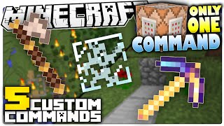 Minecraft   5 Custom Commands That Make Minecraft Less Annoying   Only One Command Block