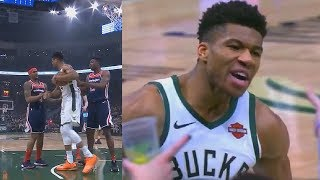 Giannis Spares Bradley Beal's Life After He Tries To Start Scuffle But Destroys Wizards Instead!