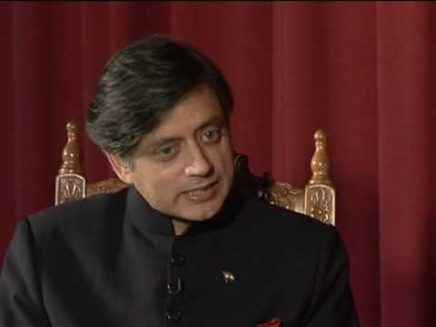 Shashi Tharoor Mauritus Interview Part 1 - YouTube