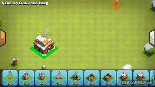 [Clash of clan] cách xếp nhà 3 thủ tốt ver.2 cho các bạn có thể chọi dc nhà mạnh hơn