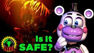 FNAF 6's SLACKER ENDING! | Five Nights at Freddy's: Pizzeria Simulator (Part 4)