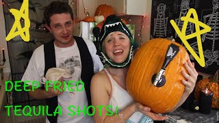 MY DRUNK KITCHEN: Halloween Deep Fried Tequila Shots