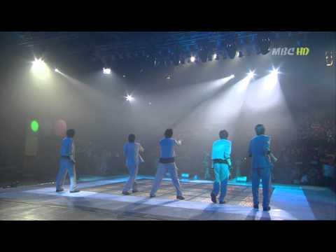 DBSK - Hug + No.1 song win (m.usic camp April 3, 2004)