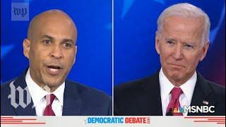 'Black voters are pissed off': Watch the fiery exchange between Booker and Biden
